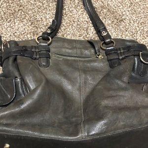 Junior Drake Bags - Junior Drake Leather Purse Brown Metallic
